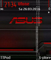 Asus theme screenshot