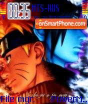 Naruto The Man theme screenshot