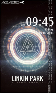 Linkin Park 15 Theme-Screenshot