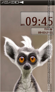 Lemur theme screenshot