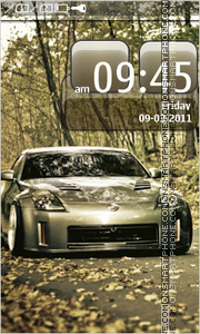 Nissan 350Z 15 Theme-Screenshot