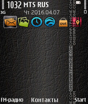 Skin tema screenshot