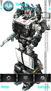 Prowl movie concept colored es el tema de pantalla