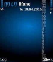 Grad blue es el tema de pantalla