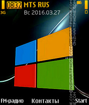Windows 10 tema screenshot