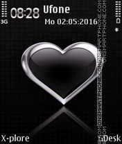 Silver Heart Theme-Screenshot