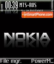 Nokia Black Final es el tema de pantalla