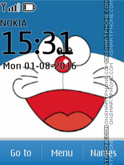Doraemon tema screenshot