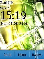 Yellow tema screenshot