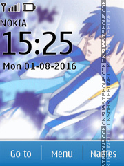 Vocaoid Kaito Theme-Screenshot