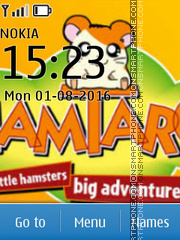 Hamtaro theme screenshot