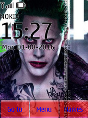 Suicide Squad Joker tema screenshot