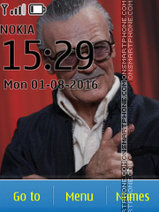 Avengers Stan Lee Marvel tema screenshot