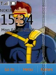Cyclops X-Men tema screenshot