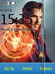 Avengers Doctor Strange tema screenshot