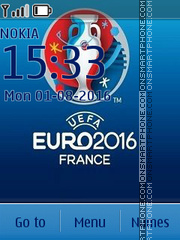 Euro 2016 Theme-Screenshot