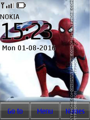 Spiderman tema screenshot