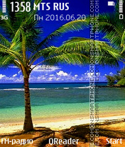 Tropics tema screenshot