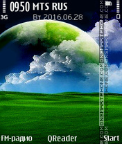 Green World tema screenshot