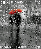 Rain tema screenshot
