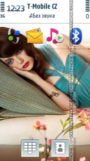 Emma Stone theme screenshot