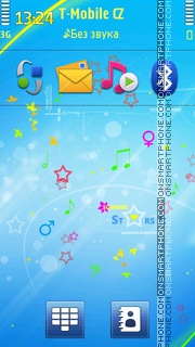 Summer Stars 01 Theme-Screenshot