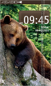 Bear 12 tema screenshot
