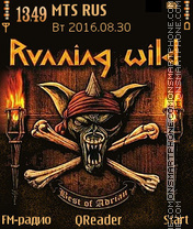 Running Wild tema screenshot