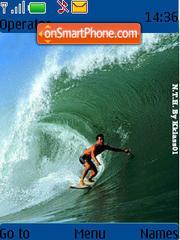 Surfs Up 02 theme screenshot