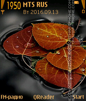 Leaves tema screenshot