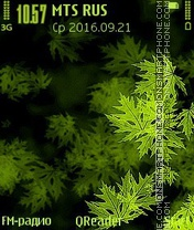 Merry Grass theme screenshot