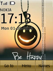 Be Happy 13 tema screenshot