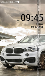 BMW X5 and BMW X6 theme screenshot
