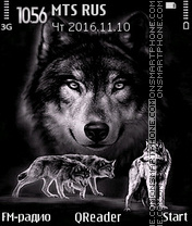 Wolf Style theme screenshot