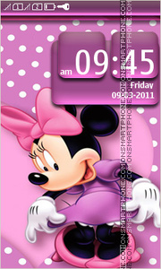 Minnie Mouse 11 theme screenshot