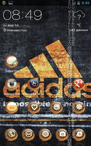 Adidas 05 tema screenshot