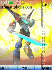 Voltron tema screenshot