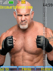 WWE Goldberg theme screenshot