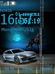 Porsche Panamera 02 theme screenshot