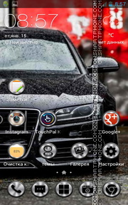 Audi S5 07 theme screenshot