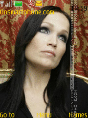 Tarja Turunen theme screenshot