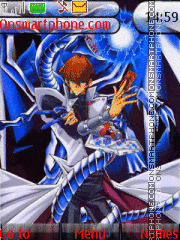 Seto Kaiba theme screenshot
