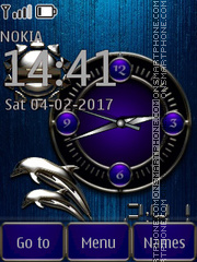 Blue Metal Theme-Screenshot