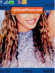 Beyonce 03 theme screenshot