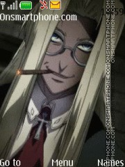 Integra Hellsing tema screenshot