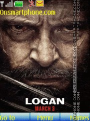 Wolverine Logan tema screenshot