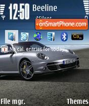 Porsche Turbo theme screenshot