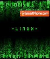 Linux Green Neon 01 theme screenshot