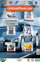 Audi 05 es el tema de pantalla