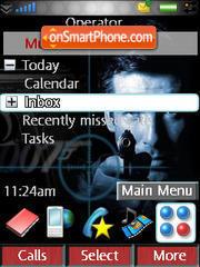 Bond Rd M600i theme screenshot